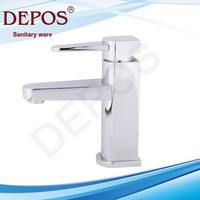 electric water heater faucet,shower head ,sanitary ware,,single lever brass basin mixer DP-2107