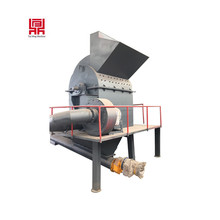 large capacity wood pallet brunch crushing machine crusher price