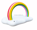 2018 pvc inflatable rianbow cloud float toy swimming pool float custom inflatable float in stock