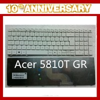 Brand new for Acer 5810T laptop internal keyboard Germany layout white