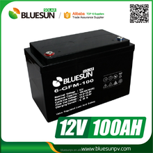 China high quality lower price 12v 100ah sealed lead acid battery batteries for car
