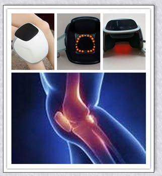 lllt laser light pain therapy massager relieve pain on knee