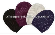 rainbow color winter hats 2012