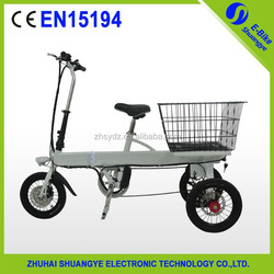 2015 New design three wheel electric tricycle for adults A2-AL314