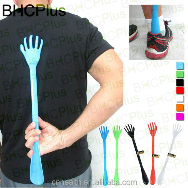 New & Hot Plastic Back Scratcher Shoe Horn