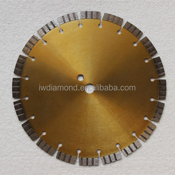 Good Quality Reinforced Concrete Laser Welded Diamond Saw Bade For Concrete