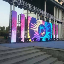 High Quality P4.81mm Outdoor Waterproof Curved Rental HD LED Video Display for Stage