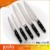 High quality stainless steel embossing knife 6pcs kitchen knife set