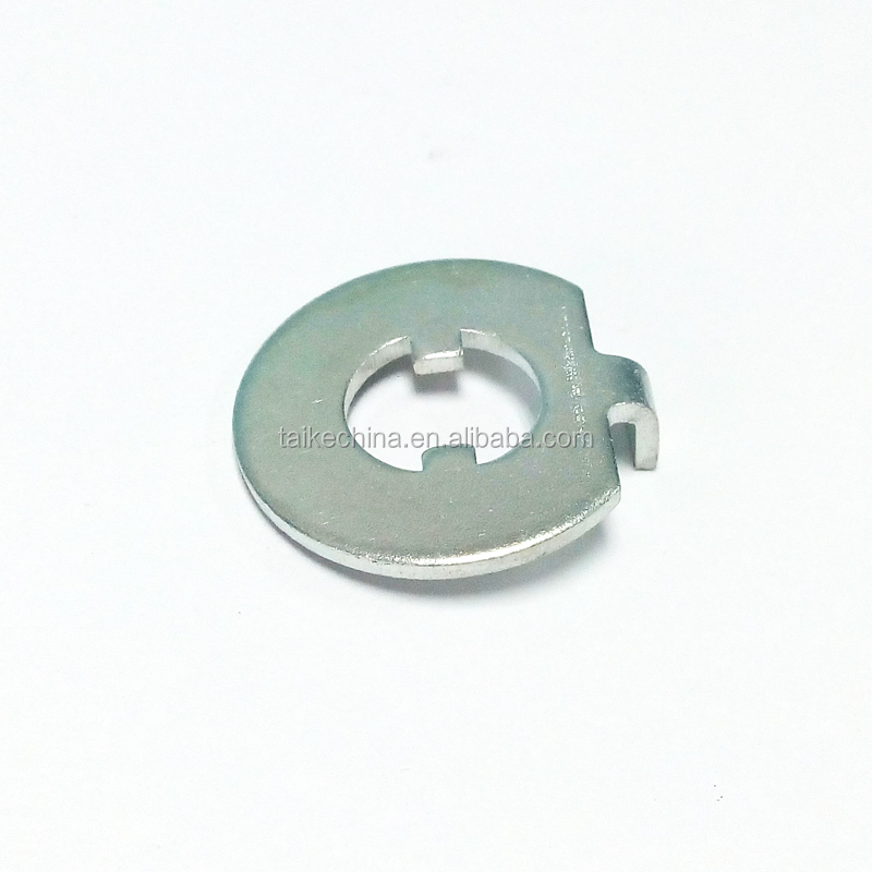 steel zinc plated round metal stamping parts products (PSP0810)