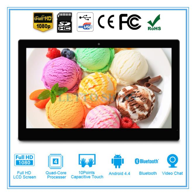 Multifunctional 14 inch large digital photo frame 1920*1080 pixels photo frame viewer