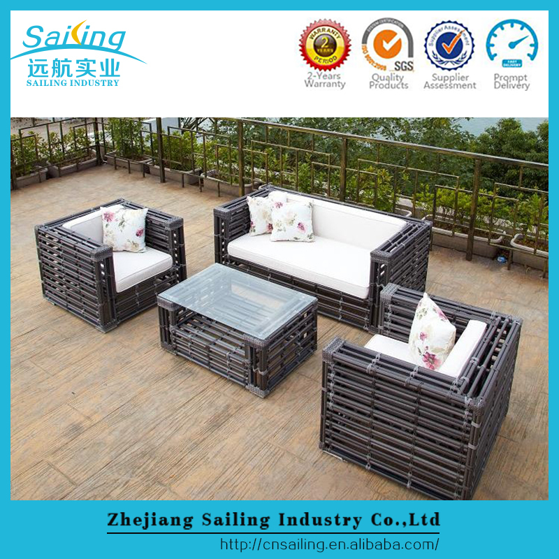 Hot sale elegant rattan synthetic modern online furniture stores