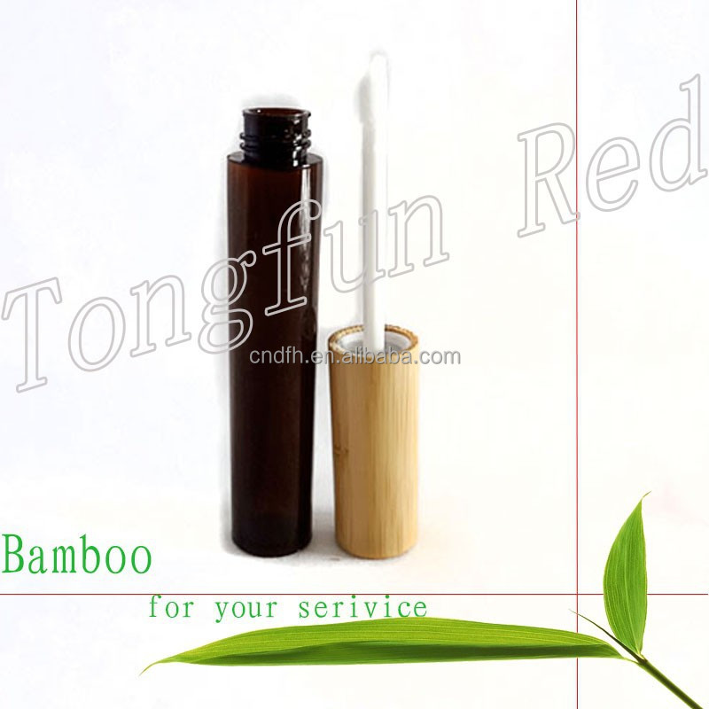 Packaging Beautiful bamboo Tube Lipstick Container