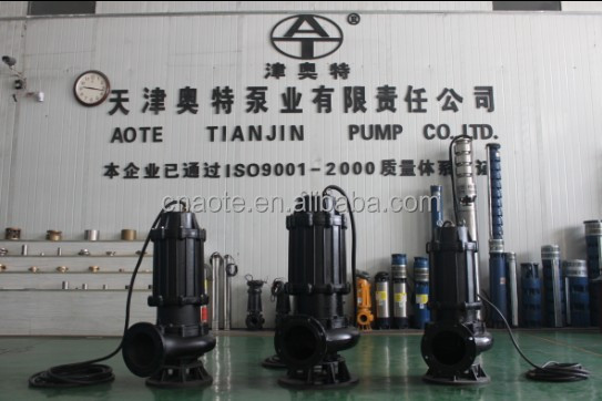 submersible sewage pump for Chemical Factory stainless steel centrifugal pump