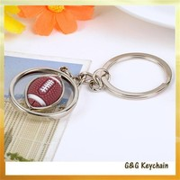 HJ5398 Manufacturers Selling Wholesale Creative Rugby Football Key chain