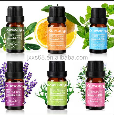 hot sale popular 100% pure lavender /eucalyptus /sweet orange/peppermint oil 15ml essential oil gift set