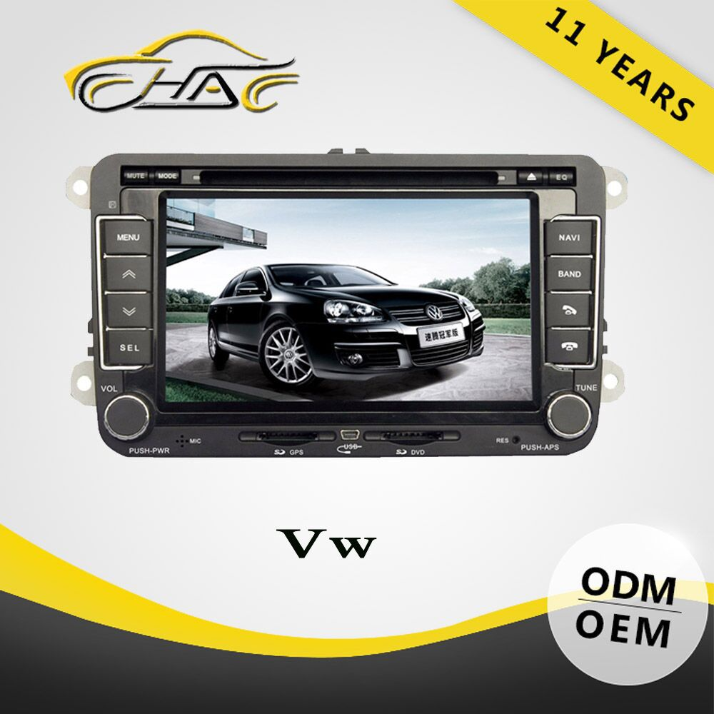 Double Din Car DVD/GPS For Volkswagen Passat B5 With GPS/ Bluetooth/ USB/ SD/ Rear-view Camera