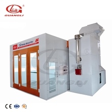 Factory supply GUANGLI 14KW dry paint spray booth design