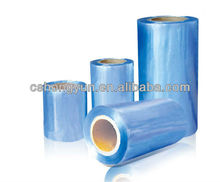 Manufacturer high quality PVC plastic shrinkable film for toy packaging/packing