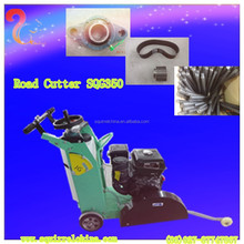 Portable Honda GX270 engine small concrete road cutter SQG350