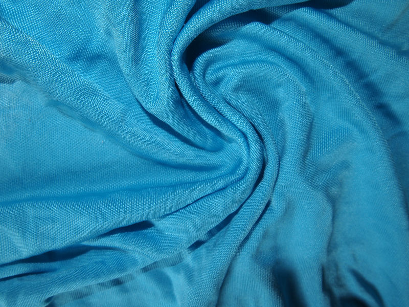 modal silk jersey knit fabric