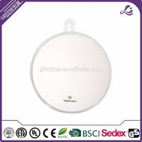 mirror wall paper with great price Fogless shaving suction cup round cosmetic mirror with a hook
