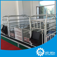 professional high process pig farrowing crate for pig equipment