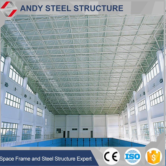 Prefabricated Light Type and ASTM,GB,AISI Standard steel space frame building