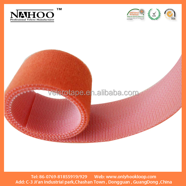 Reusable back to back hook one side loop on the other side fastener tape