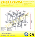 C40 TA3206 Aluminum spigot truss corner truss , Aluminum triangle truss for sale