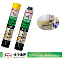 Non-toxic 750ml white spray insulation pu foam sealant manufacturer sale