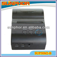 SUP58M2-B portable bluetooth printer (support ipone 4S,Iphone 5, Ipad mini)