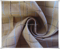 Italian fancy jacquard yarn dyed cotton polyester suits fabric, trousers fabric