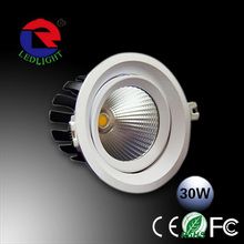 Free sample 80mm cut out led downlight 10w 12w cob downlight led dimmable/app smart