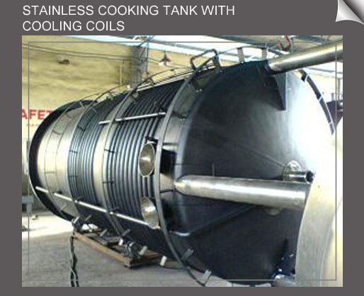 STAINLESS COOKING TANK