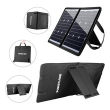 Poweradd 50W 18 V Multi-Purpose Portable Solar Charger for Laptop and Smartphone