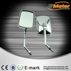 High Quality motocycle spare parts Universal Motorcycle ABS Rearview Chrome Scooter Mirror
