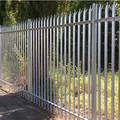 3.0m high galvanised secure metal palisade gates and fence