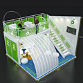 Detian offer china modern stable and safty strong double deck exhibition two story booth