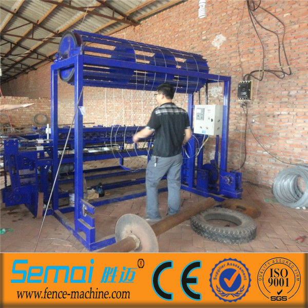 automatic field fence machine / hinge joint knot weaving machine/ grassland fence net machine for sale(factory)