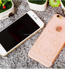 Ultra thin hello kitty Tpu Cell Phone Case For Iphone6 Plus