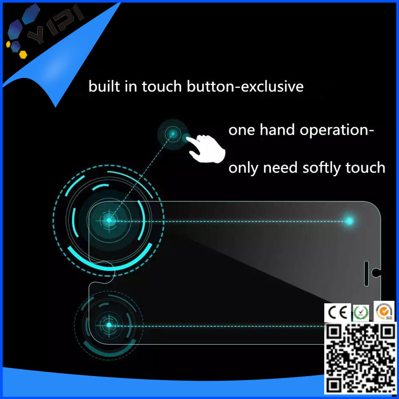 Smart Touch , Invisible Shield Confirm and Return Smart Tempered Glass Screen Protector