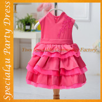 Cheap Indian baby dress birthday cheap girl party wear dress kids wedding dress ASQ-009