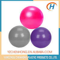 65 cm yoga ball with pump, pvc smooth ball, rubber bouncing ball