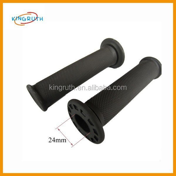 China new black motorcycle hand grip covers