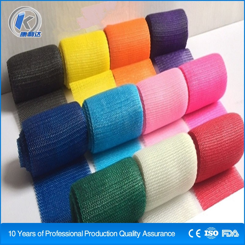 factory price 3inch orthopedic casting tape plaster of paris silicone bandages