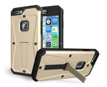 best price Armored tank kickstand mobile phone case for iphone 6 4.7''
