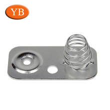 Nickel Plated Aluminum Holder Contact And Clip For Electronics