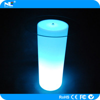 Fashionable LED table lamp/ illuminated acrylic led bar tables with remote control
