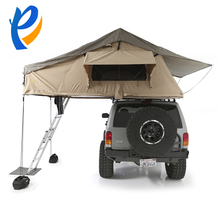Warm winter car tent uptop campers roof top tent and waterproof camping luxury tent 4person