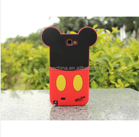 Cartoon Silicon phone case Mickey Minnie Sulley Mike Daisy Donald Duck Pooh Bear Case Cover For Samsung Galaxy Note2 N7100